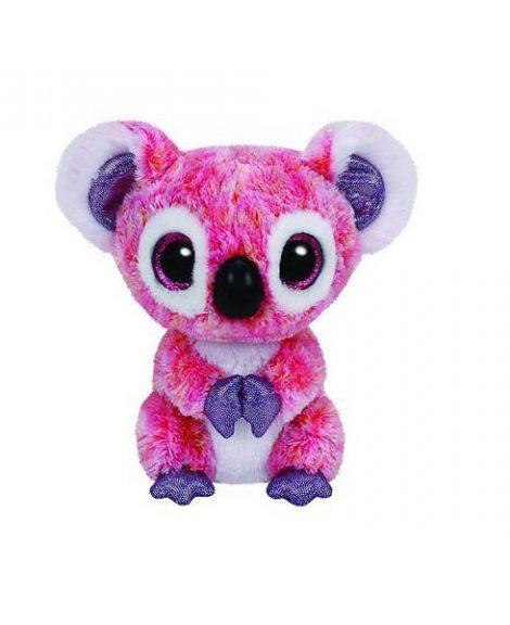 Peluche Koala Beanie Boos 15 cm KACEY rose et blanche - ww.beanieboos.fr