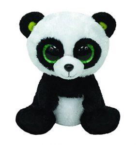 Peluche Beanie Boos Panda 15 cm Bambou
