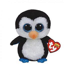 Peluche pingouin Beanie Boos Waddles 15 cm