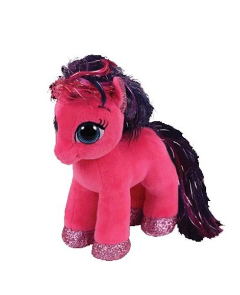 peluche-poney-beanie-boos-ruby-pink