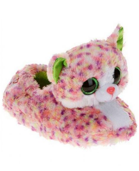 Chaussons peluche chat collection Beanie Boos SOPHIE