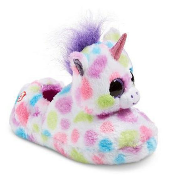 Chaussons Licorne collection Beanie Boos - WISHFUL - www.beanieboos.fr
