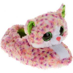 Chaussons peluche chat collection Beanie Boos SOPHIE - www.beanieboos.fr