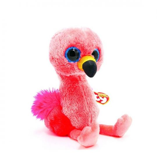 Peluche Flamant rose 15cm collection Beanie Boos GILDA - www.beanieboos.fr